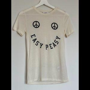 ganni, easy peasy t-shirt